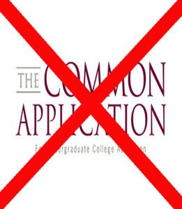Common App Catastrophe