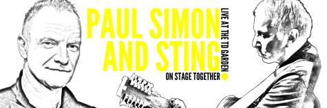 Paul Simon and Sting rock TD Garden Monday night