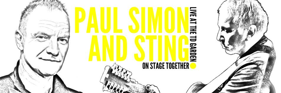 Paul Simon and Sting rock TD Garden Monday night