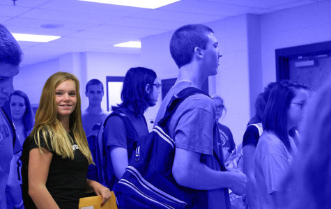 Freshmen hit the halls