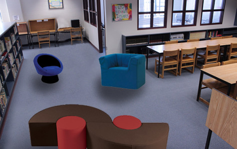 Library undergoing renovations