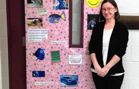 Christina Brown: Teacher of the Month