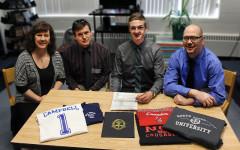 Senior fulfills dream with signature