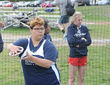Amanda McDonough makes strides in HB's track and field program