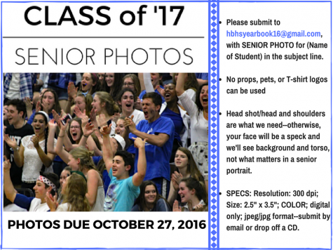 Senior photo deadline approaching