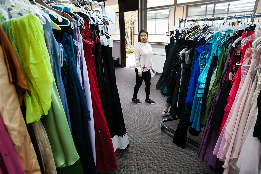 Prom dress shopping can be a daunting task, as there are often so many to choose from!