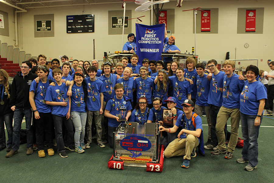 HB FIRST Robotics team brings home silver