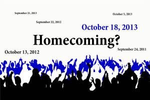 Homecoming overdue?