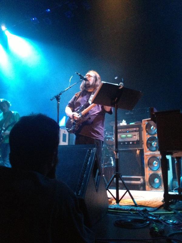 Lead guitarist, Jeff Mattson at a recent Dark Star Orchestra show  Photo Credit Vinny Magnano