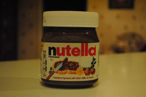 Going nutty for Nutella