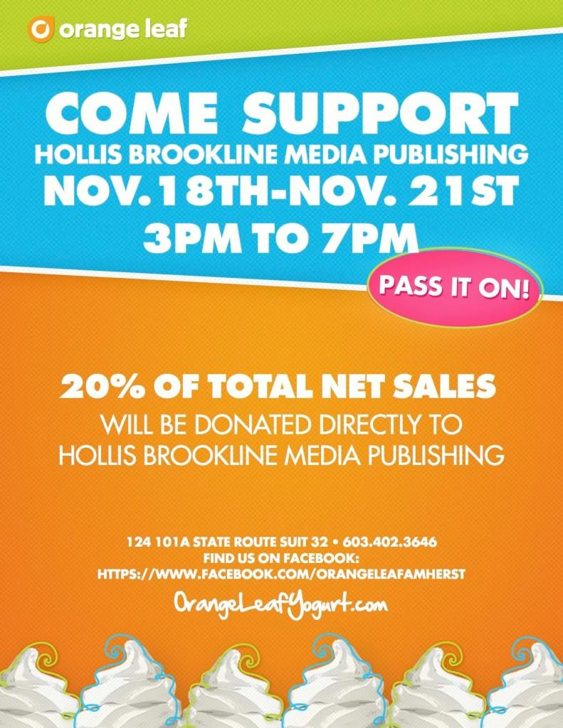 Go+FRO-YO+for+a+cause+at+124+Amherst+St.+this+Monday+through+Thursday+3-7+p.m.