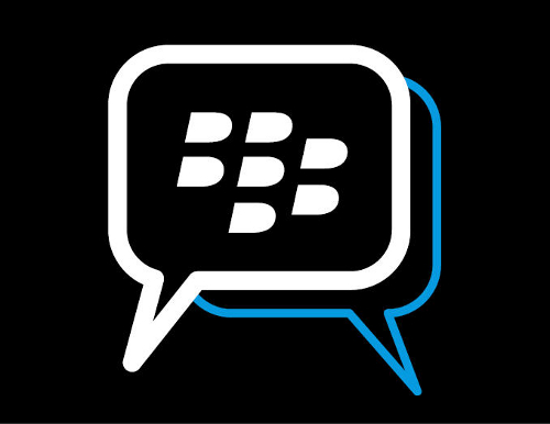 Blackberry Messenger logo.