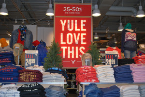 American Eagle sales are already setup in preparation for Black Friday.