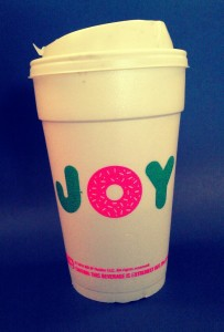 Dunkin' Donuts is already breaking out the seasonal cups.