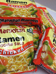 Ramen noodles: food of choice for hungry teens