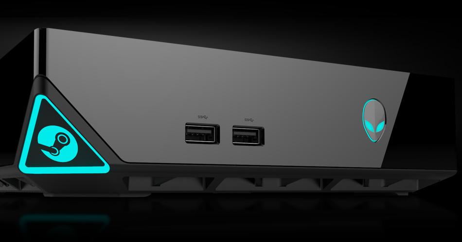 Alienware STEAM Box Render