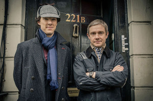 BBC's Sherlock is back for its third season, and airing on PBS in the US