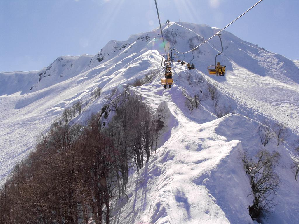 Krasnaya Polyana is the resort in Sochi where all skiing and snowboarding events will be held