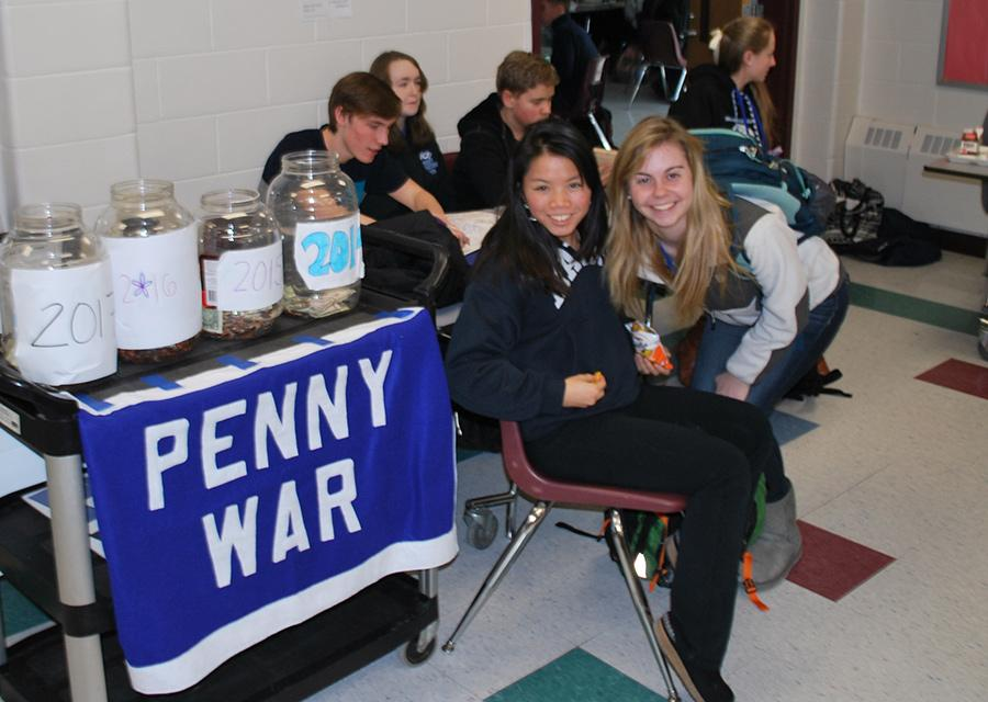 The+Penny+War+is+running+throughout+the+week+for+Spirit+Week+festivities+