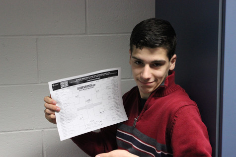 Hollis Brookline students are attempt to achieve perfection with their March Madness brackets