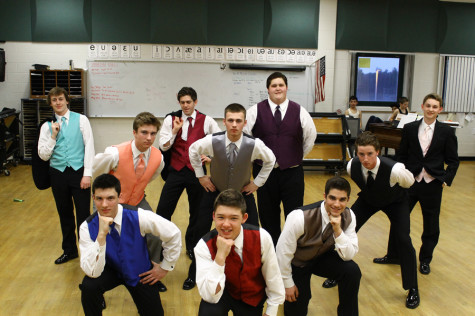 Tuxes and talent take the stage in Mr. HBHS