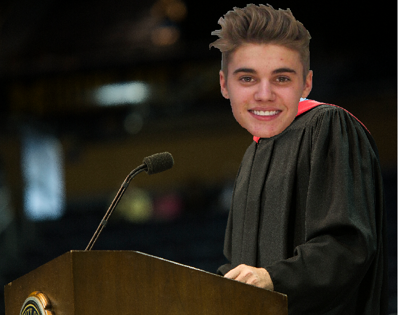 Justin Beiber to deliver commencement address for Class of 2014