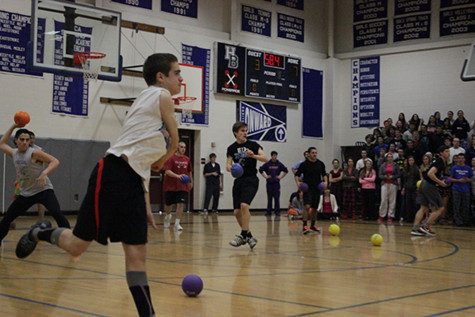 This year's Dodgeball Tournament raised funds for Grand Council