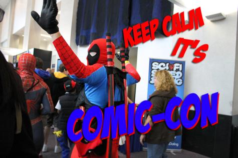 Keeping calm at Comic-Con