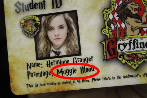 Excuse me. It's Muggle BORN. Her parents were dentists, not hemoglobin.