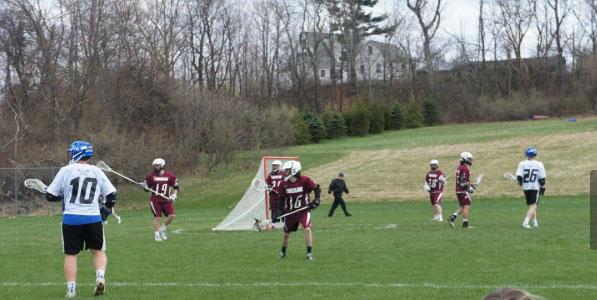 Boys lacrosse vs. Timberlane Owls