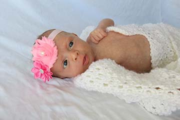 Baby Alyssa Lucille Basbas