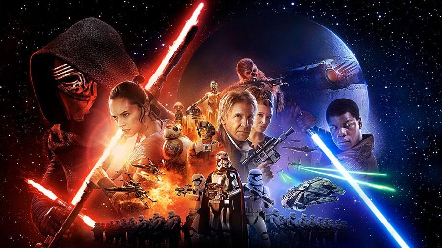 Poster for The Force Awakens