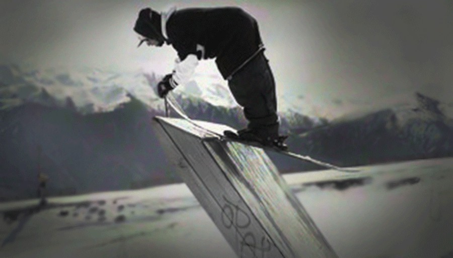 Harlaut competes in this years X Games held in Aspen, Colorado.