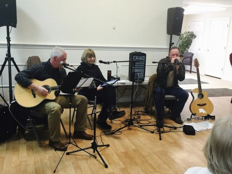 Live Simply consists of local musicians Barry Poitras, Susie Collins and Tom Black.