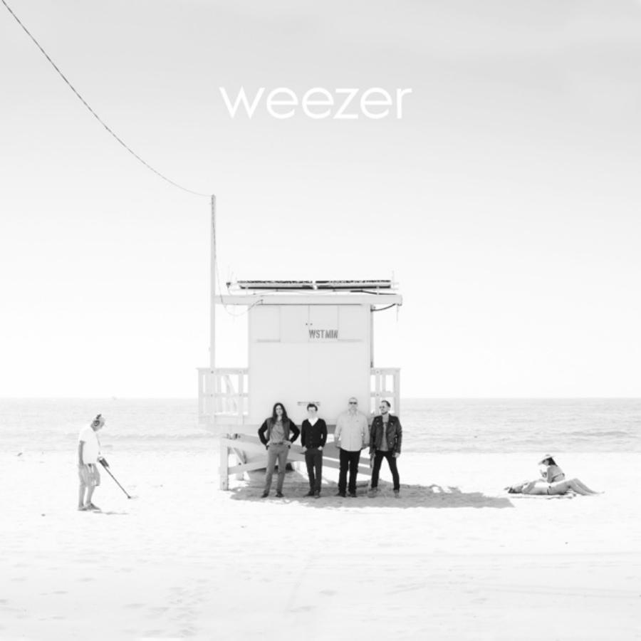 Cover of the latest Weezer album, Weezer (White Album).