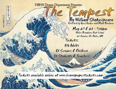 "HB Theatre Department's ""The Tempest"" to open May 27"