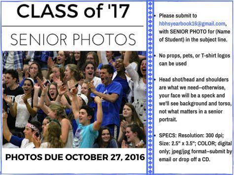 Senior photo deadline approaching