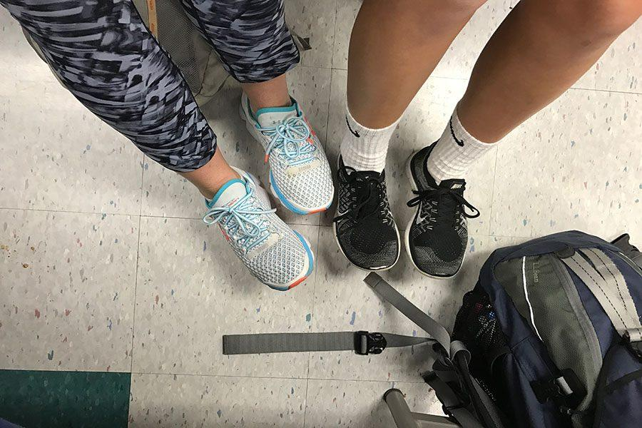 Shoes are one of the most noticed and important aspects of athletic wear
