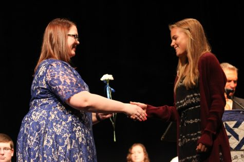 The face of new student leadership: NHS Induction Ceremony