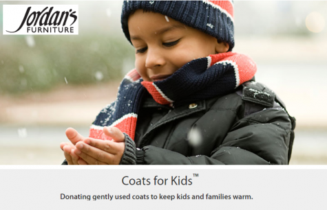 HB the Change collects coats for those in need