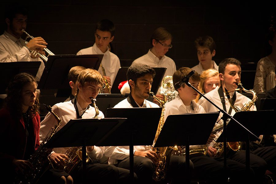 The Jazz Band plays a tune.