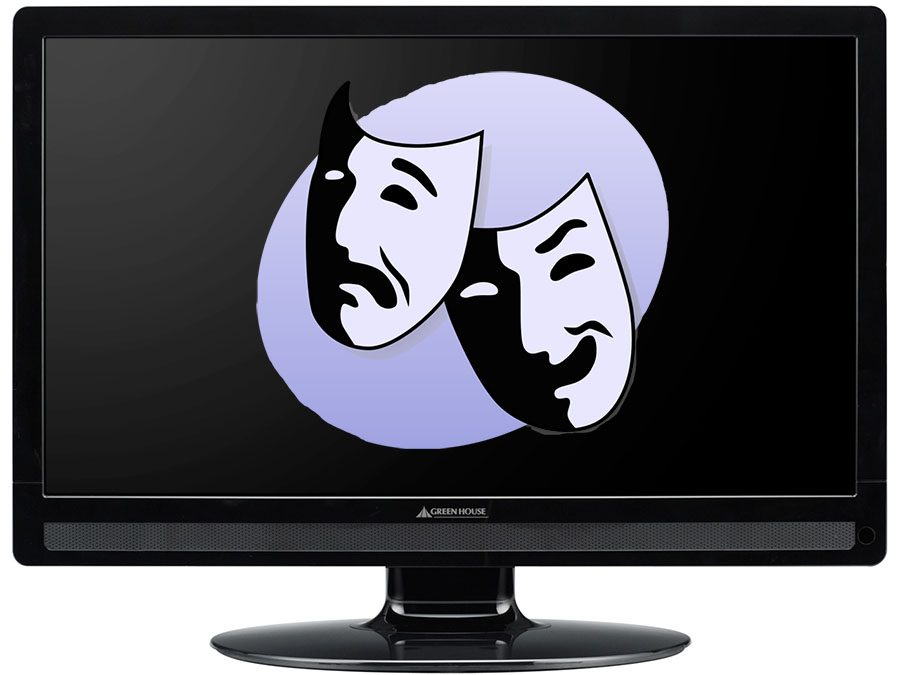 Many people tune in to watch Broadway shows staged on television.