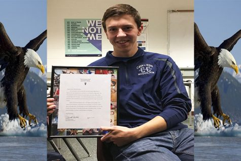 Eagle soaring: Adam McQuilkin earns highest Boy Scout honor