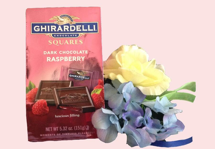 An assortment of traditional American Valentine's Day goodies.