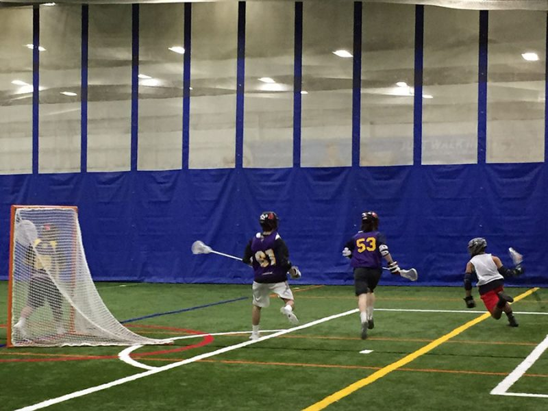 A few HB lacrosse players putting in some work over the offseason.