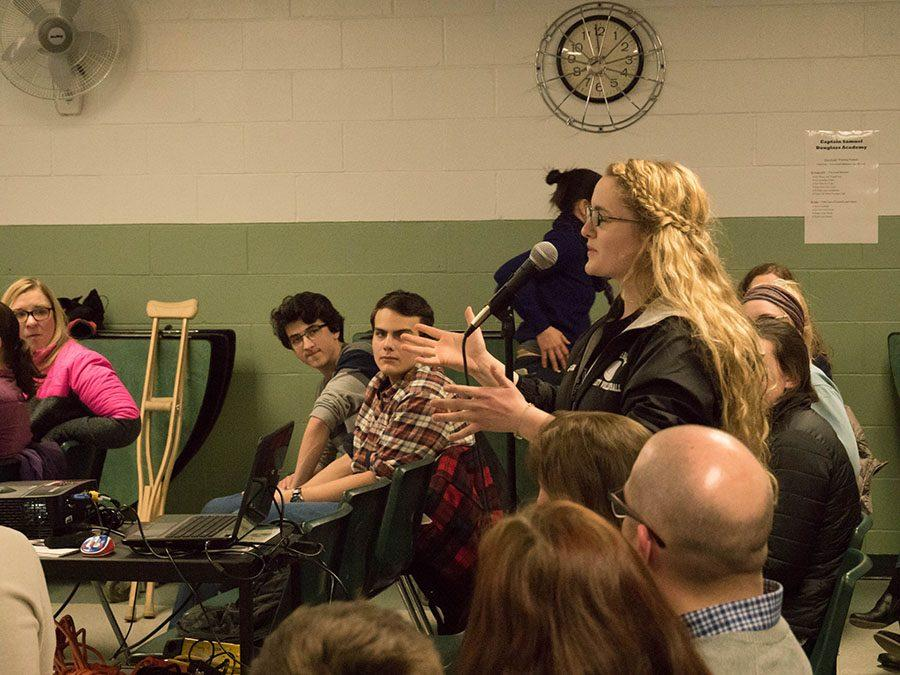 Kristi Fox '17 gives her input on the times the Committee has comprised.