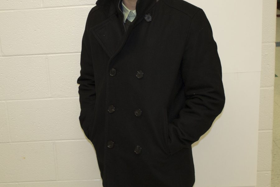 A peacoat is a necessity for any stylish man.