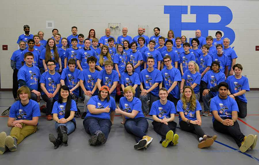 The HB FIRST Robotics Team has secured  spot in the Semifinals at Bedford High School this upcoming weekend, March 25-26.
