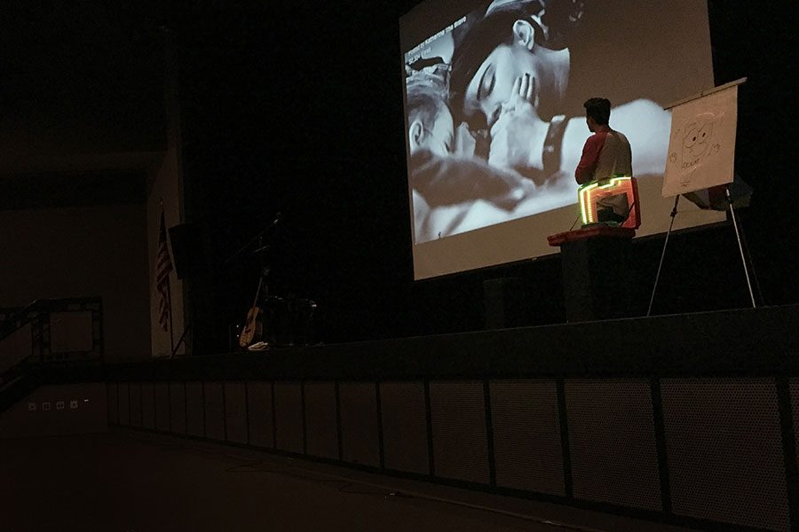 "James Orrigo presents an emotionally moving video of ""Katherine the Brave,"" a girl who passed away from an incurable form of brain cancer on June 6, 2016. Orrigo dedicates himself to creating lasting legacies for suffering pediatric cancer patients by producing music videos co-written by those same children right from their hospital beds. ""I think [Lad in a Battle] really had a positive effect on the student body, because it gave a powerful message of turning overly negative energy into positive actions,"" says Max Porter '18."