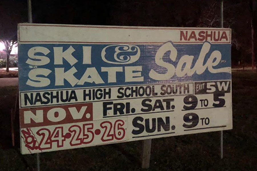 """The Ski Swap will be happening Nov. 22-26 at Nashua High School South. """"It's the oldest Ski Swap event in New Hampshire, and we are very happy to continue the tradition of community support,"""" said Whalen."""